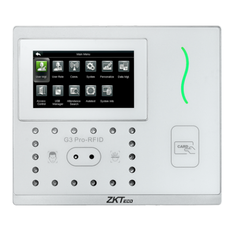 Time and Attendance 3-in-1 Contactless Palm and Facial Recognition Terminal ZKTeco