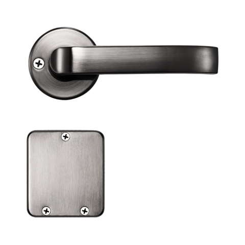 LH7500 Split design Hotel Door Lock with european standard mortise and RFID ZKTeco