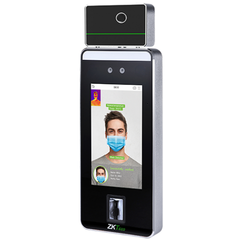 SpeedFace-V5L[TI] Face & Palm Verification and Thermal Imaging Temperature Detection Terminal ZKTeco