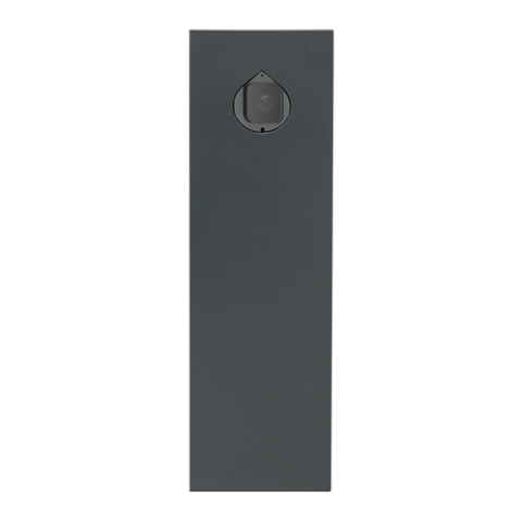 ZK-LPR Totem waterproof license plate recognition totem for ZK-LPR Car ID, a high-performance camera BL-852Q38A-LP with embedded LPR software