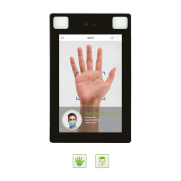 ProFace X [P] facial and palm recognition ZKTeco visible light biometric device