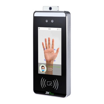 SpeedFace RFID [TD] Visible Light Facial palm Recognition Series ZKTeco with body temperature measurement