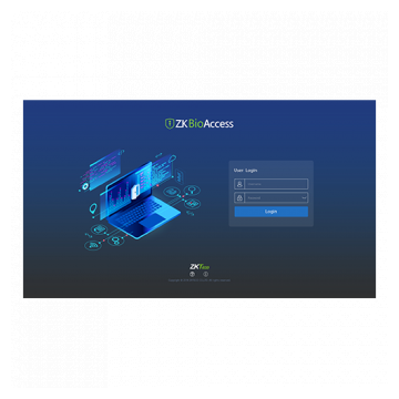 zkbioaccess-access-control-software-login-screenshot