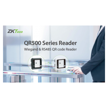 QR500 Series QR Code and Card Reader for Access Control