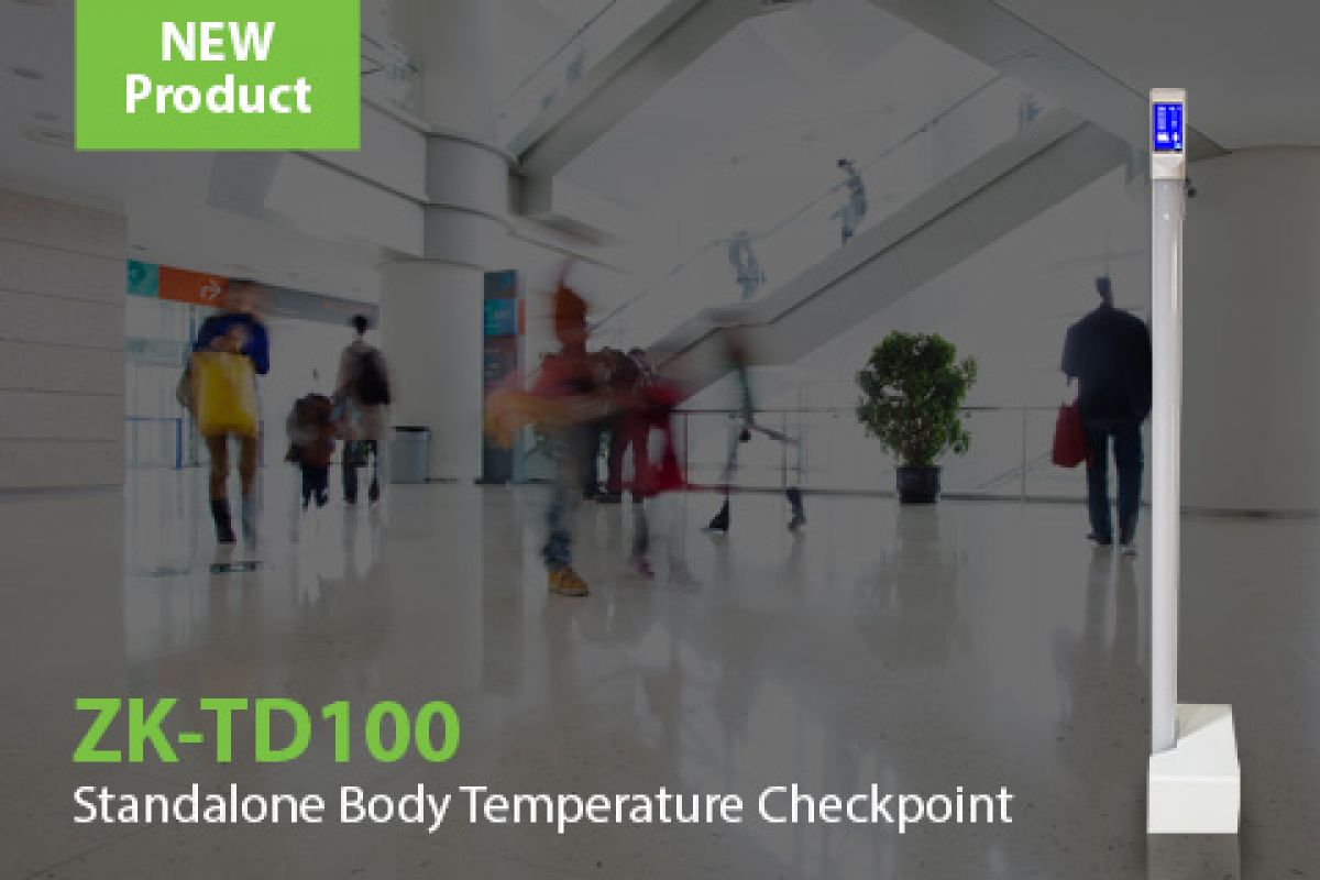 ZKTeco's Access Control checkpoint with body temperature measurement | ZKTeco Europe