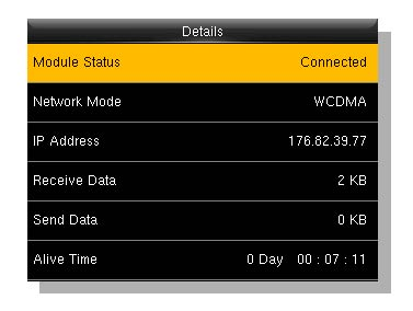 ZKTeco Europe, how to connect to 3G, 3G,