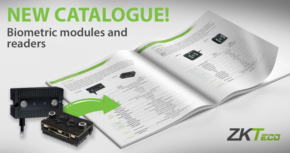 ZKTeco Europe Biometrics Catalogue 2021, Biometrics Catalogue,