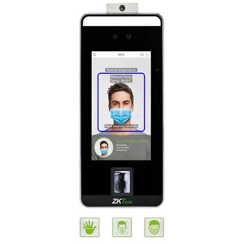 speedface v5L ZKTecos Touchless Biometrics with Fever Detection