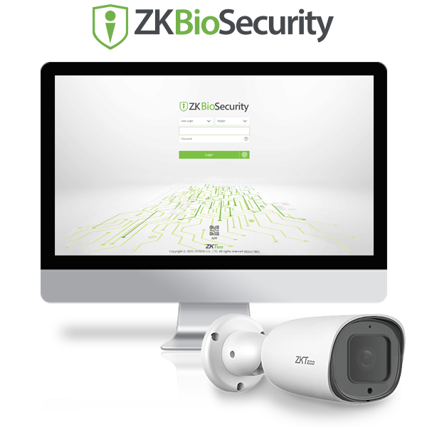 ZKBioSecurity Parking Module license plate recognition system
